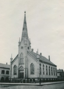 First Bethlehem's first church building, 1871-1889